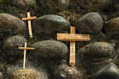 Three Crosses — Stock Photo