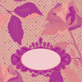 Floral backgrounds with vintage roses. EPS 8 — Stockvektor