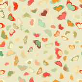 Flying hearts seamless pattern. EPS 8 — Stock vektor