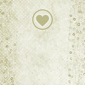 Tarjeta de San Valentín con marcador de posición. — Vector de stock
