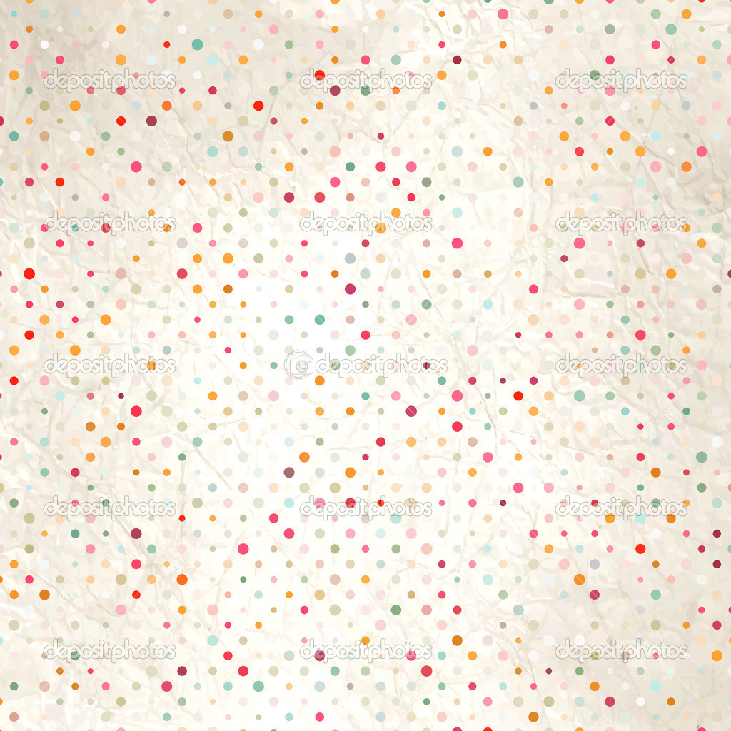 Colorful Dots Pattern Colorful Polka Dot Pattern on