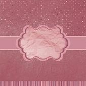 Be my valentine vintage design. EPS 8 — Stock Vector