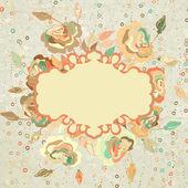 абстрактный фон с розовыми сердечками. eps 8 — Cтоковый вектор