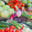 Vegetables ready for sale on the market — Stock Photo #11629106