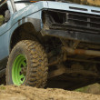 Stock Photo: Off-road vehicle in terrain.