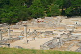 General view of Glanum. France — Stock Photo