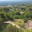 Royalty-Free Stock Photo: General view of Glanum and St. Remy de Provence