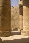 Columns of the Temples of Karnak ( Egypt) — ストック写真