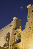 Night view of the Temple of Luxor (Egypt) — 图库照片