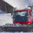 A snow groomer ready to use — Stock Photo #12380292