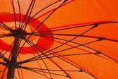 Paraguas naranja — Foto de Stock