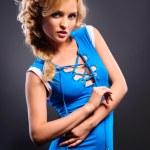 mooie sexy blonde — Stockfoto #11389978