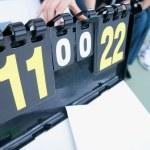 Tennis score board — Stock Photo #11539049