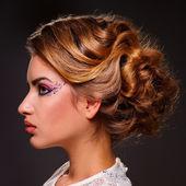 Fashion Beauty Portrait — Stock Photo