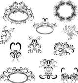 装飾の設計 — ストックベクタ