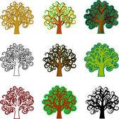 Fantasy drzew — Wektor stockowy