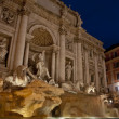 Trevi Fountain at Dusk — Stock Photo