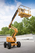 Articulating Boom Lift — Stock Photo