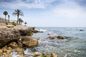 Mediterranean coastline — Stock Photo