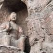 Buddha statue at the Yungang Caves, China — Stock Photo #10758715