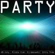 Party flyer design template — Stock Vector