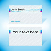 Futurista-cartão de visita — Vetorial Stock