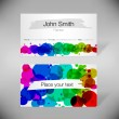 Painter business-card — Stock Vector #11153073