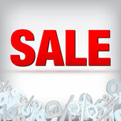 Sale decoration — Stock Vector