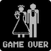 Funny wedding symbol — Stock Vector