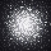 Abstract pixel mosaic — Stock Vector