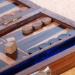 Backgammon game board — Stock Photo