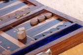 Backgammon game board — Stock Photo