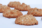 Homemade oatmeal cookies — Stock Photo