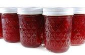Homemade fruit jam — Stock Photo