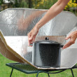 Solar Cooker - Stock Photo