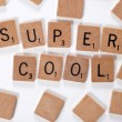 New word : supercool - Stock Photo