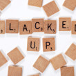 New phrase: Blacked Up — Stock Photo #11946526