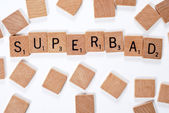 New phrase: Superbad — Stock Photo