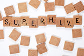 New phrase: Superhive — Stock Photo