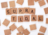 New phrase: Supratidal — Stock Photo