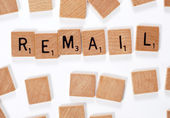 New phrase: Remail — Stock Photo