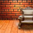 Luxury Arm Chair — Stock Photo