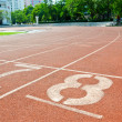 Running track numbers — Stock Photo #11364189
