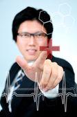 Médico de retrato — Fotografia Stock