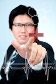 Portrait medical doctor — Stock Photo