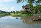 прекрасный сад таиланд красивый сад — Стоковое фото