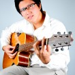 Guiter player — 图库照片