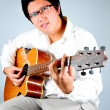 Guiter player — Foto Stock
