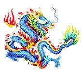 Dragons statue — Stock Photo
