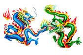 Dragon statue — 图库照片